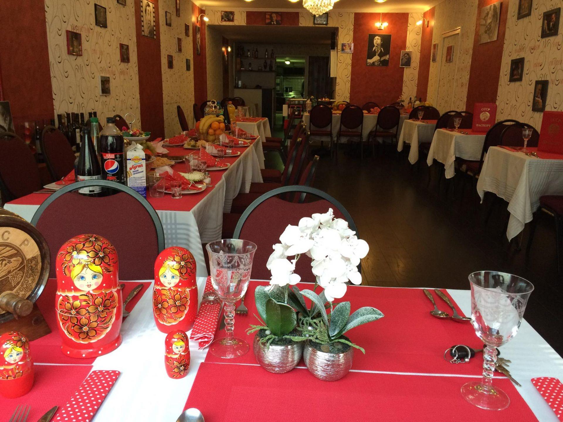 Restaurant russe est 12 pays cccp - Lorraine Tourisme