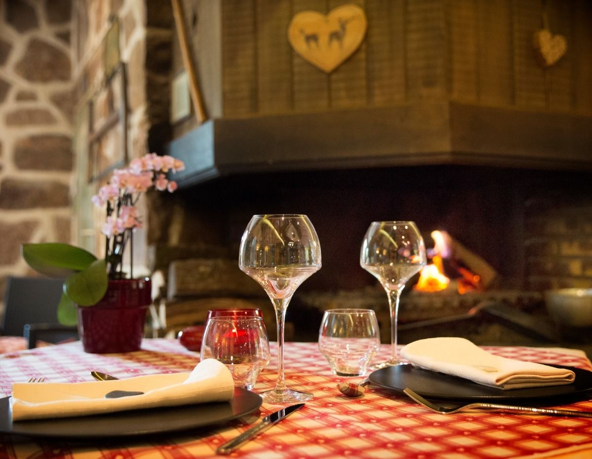 Restaurant la table du haut jardin lorraine tourisme - Table de restaurant ...