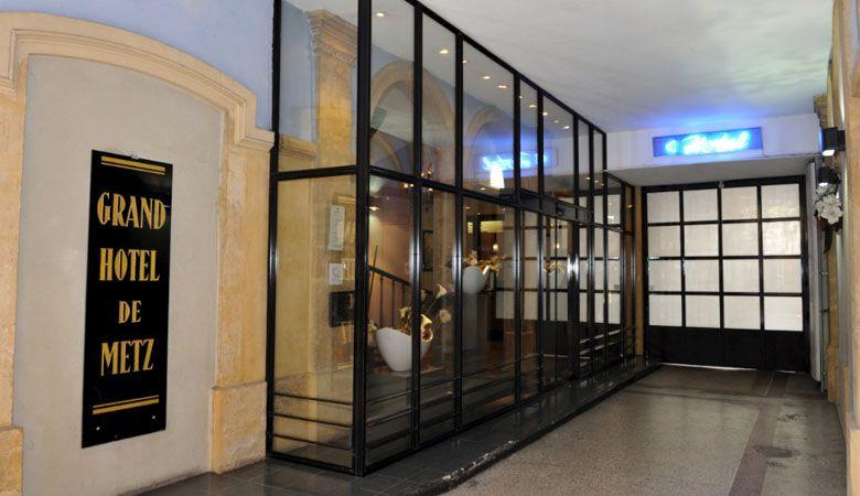 Hotel Grand Hotel De Metz Lorraine Tourisme