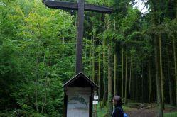 Das Kreuz der Redouten auf dem Saillant von St. Mihiel