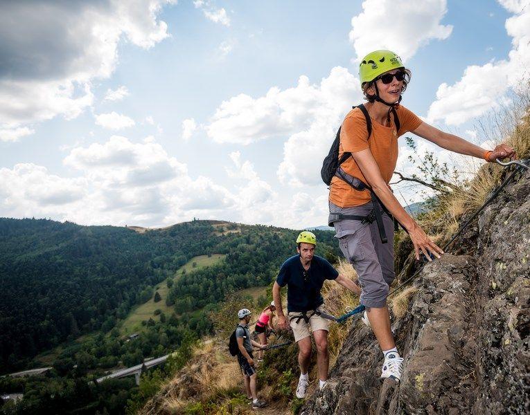 Klettersteig Englisch : Klettersteig der mosell quelle lorraine tourisme